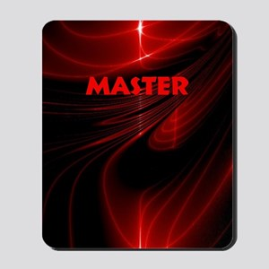 bondage black and red Master Mousepad